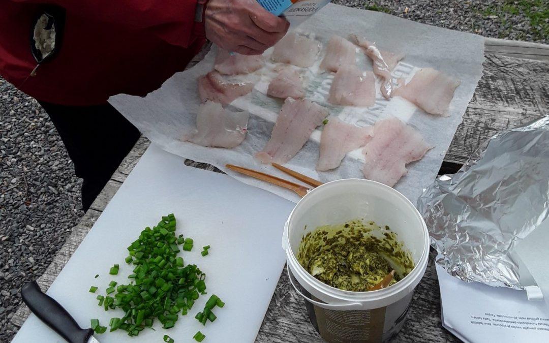 Onnistunut kalaruokapäivä Hiidenvedellä