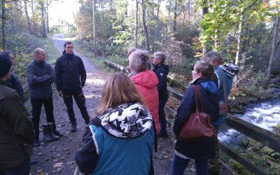 Hola Lake -hankkeen viimeinen työpaja pidettiin Pyhäjärvi-instituutissa Eurassa