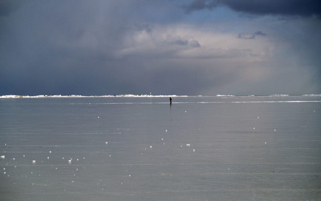 Hangon merialueen pistekuormitus lähes kokonaan Hankoniemen eteläpuolelle nykyään