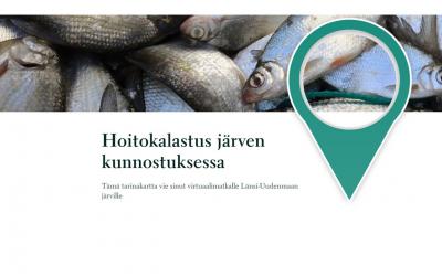 Välkommen på en virtuell resa för att lära dig om vårdfiske!