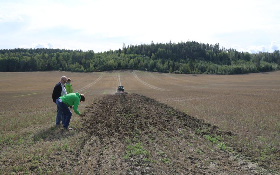 Tervetuloa pellonpiennartilaisuuteen to 8.10. Pohjois-Kirkkonummelle!